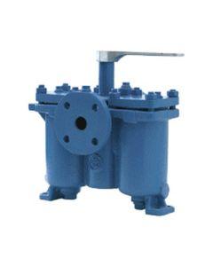 Doppel-Flanschfilter  für Druckbetrieb UG 54 ; DN 20 umschaltbar