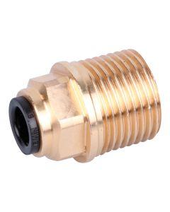 """Einschraubverbinder   ; 3/8"""" x 6 mm für Ölversorgungsleitung"""