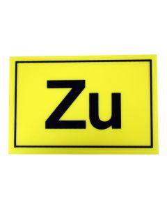"Hinweisschild   ; ""Zu"""