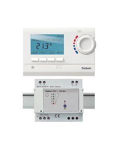 Digitaler Uhrenthermostat THEBEN RAM 813 top HF Set 1
