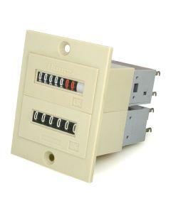 Impuls- und Betriebsstundenzähler   ; 24 V Einbau