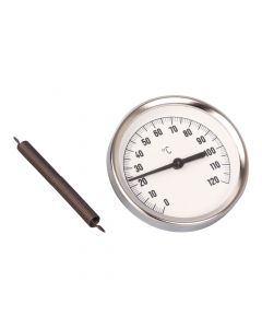 Anlegethermometer  Bimetall ; 63 mm Gehäuse