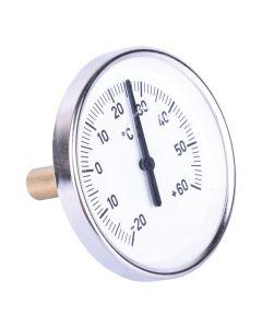 Heizungsthermometer  Bimetall ; Wärmepumpe