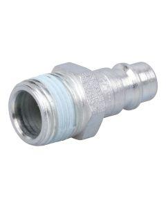 """Stecknippel  DN 7,2 / 7,8 Stahl verzinkt mit Außengewinde ; 1/2"""" AG"""