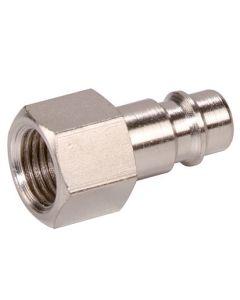 """Stecknippel  DN 7,2 / 7,8 Stahl verzinkt mit Innengewinde ; 1/2"""" IG"""