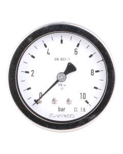 Manometer  Chemie-Ausführung NG 63 axial