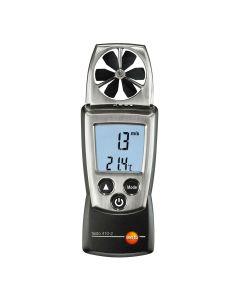 Luftgeschwindigkeits-, Temperatur- und Feuchtemessgerät TESTO 410-2