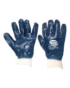 Gummi-Handschuhe  mit Strickbund