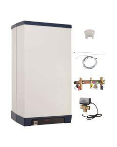 Gas-Brennwertkessel INTERCAL Streamline Set - Heizen + optional Warmwasser Variante 6; 25 kW + optional WW-Speicher